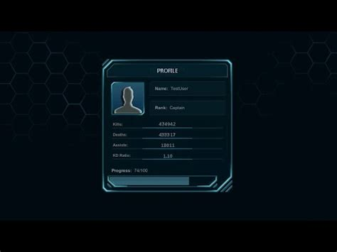 design menu in unity unity 3d futuristic multiplayer game menu concept 4
