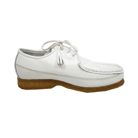 all white oxford shoes collection crown all white oxford leather limited