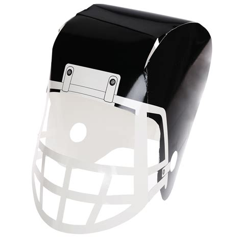 How To Make A Paper Football Helmet - 4imprint paper football helmet 113610 imprinted with