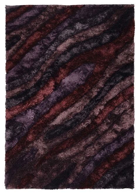 maroon shag rug purple plum maroon shag rug 5 x7 6 quot flemish fle 51103 contemporary area rugs by