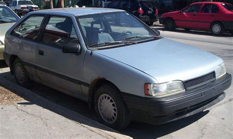Excel Car 1990 Hyundai Excel Ii Sedan Pictures Information And