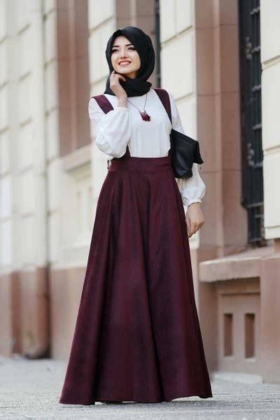 Dress Overall Muslim Wanita Yulia Overall 35 model baju dress muslim terbaru modis dan modern