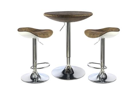 Bar Stool Table Sets Breakfast Bar Table And Stools Set Homegenies