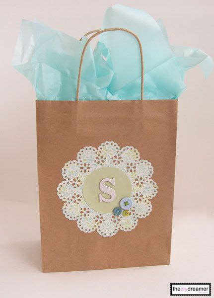 Gift Paper Craft - craft paper personalized gift bag