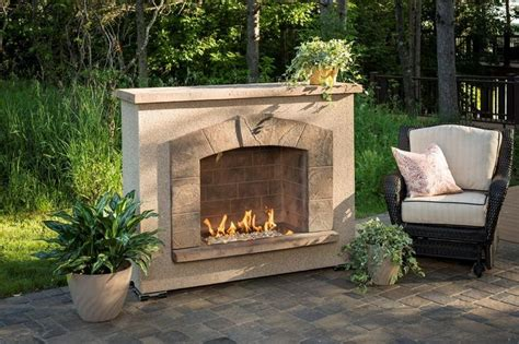 arch outdoor gas fireplace stonearchfp 1224 k
