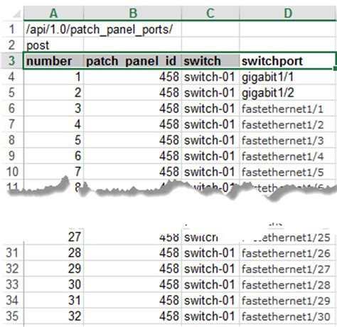 patch panel documentation template patch panel spreadsheet