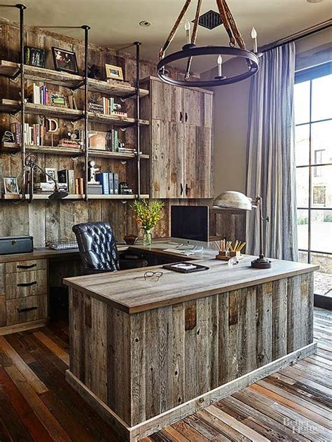 Home Office Ideas Rustic 25 Best Ideas About Rustic Office On Rustic