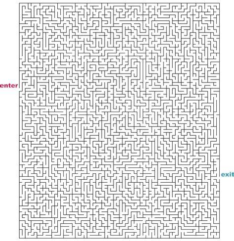 printable hardest maze ever mazes to print hard rectangle mazes
