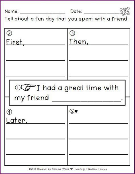 writing pattern for grade 2 212 best images about second grade writing ideas on