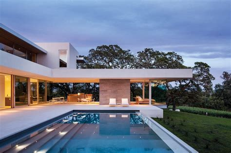 modern house california modern family home in california functioning as a working