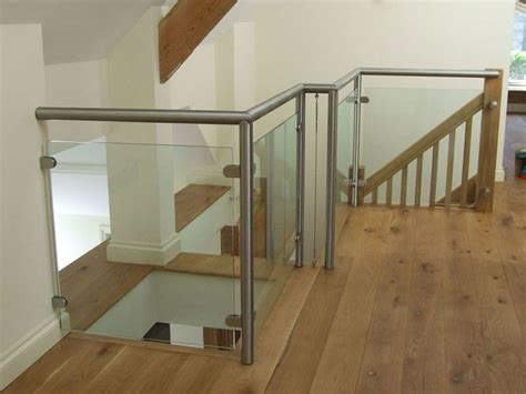 Fitting A Banister Handrail by Residential Stainless Steel Railings Handrails Fitting