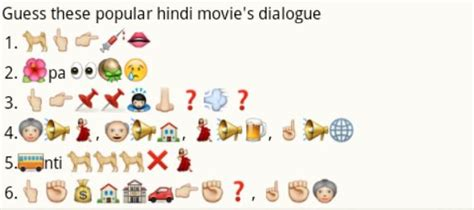 film dialogue quiz whatsapp quizzes and puzzles guess these emoticons appnina