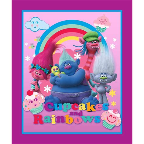 biggie and the disastrous dreamworks trolls books dreamworks trolls cupcakes rainbows character panel
