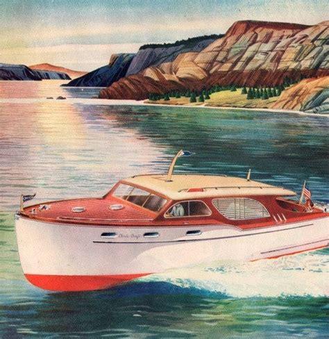 chris craft boats vintage vintage chris craft cruiser motor boat chris craft