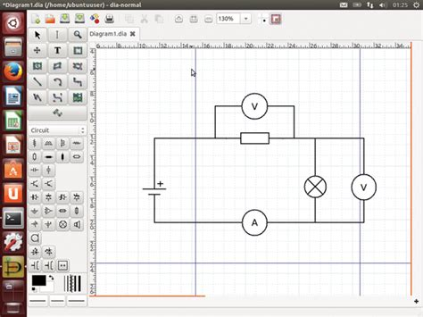 draw schematics ubuntu a tool for drawing figures