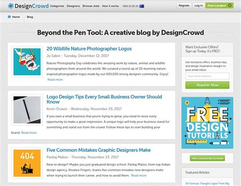 designcrowd online 15 websites to turn you into a pro