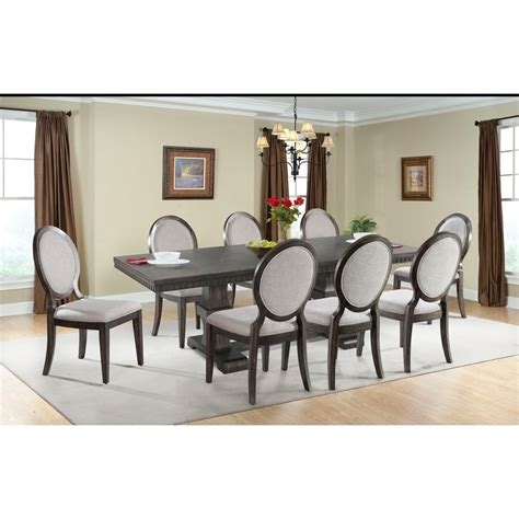 morrisons table and chairs elements international morrison table and upholstered