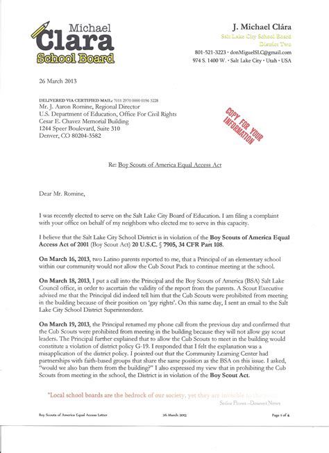 Complaint Letter Format To Superintendent Of Letter To School Board Sle Wallpaper Images Frompo