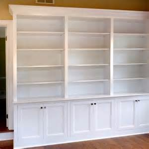 Bookcase Trim Ideas Custom Made Home Office Built In Bookcases By Stuart Home