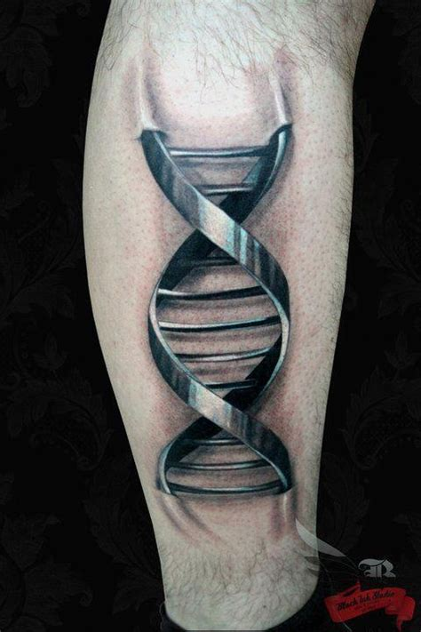 Tattoo 3d Dna | 17 best images about dna tattoos on pinterest ankle