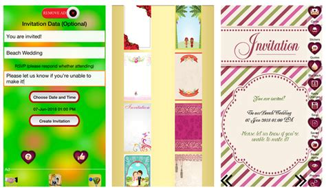 invitation card design app for android 6 digital wedding invitation apps to save money and time