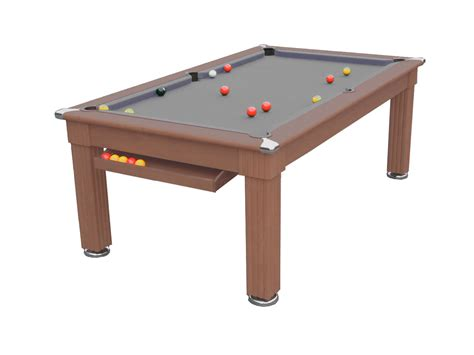 traditional diner pool dining table 6 ft 7 ft liberty