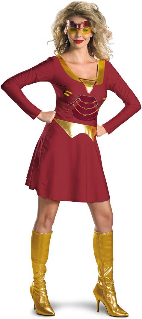 iron man iron woman classic adult costume