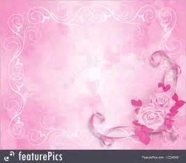 Wedding Invitation Online Illustration Of Wedding Invitation Pink Roses