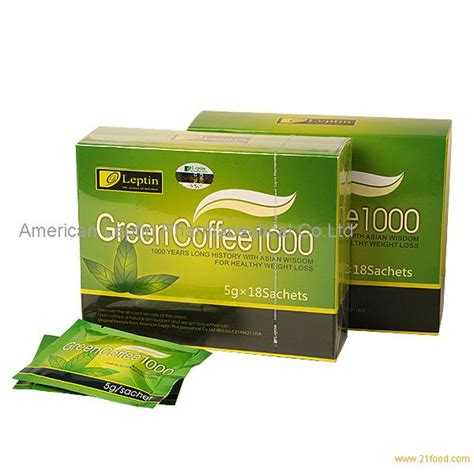 Coffee Green 1000 leptin green coffee 1000 slimming products united states