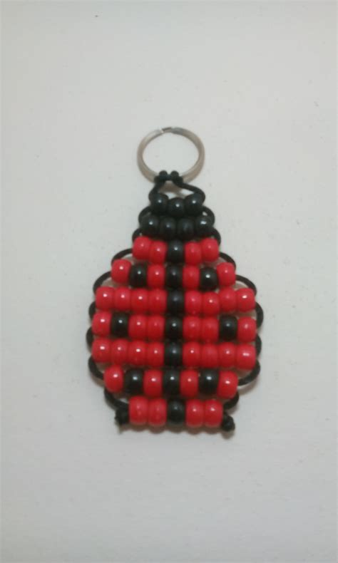 how to make a bead pet ladybug bead pet keychain