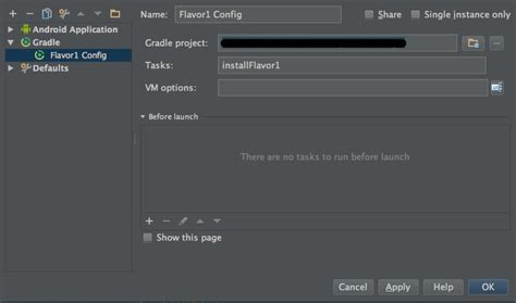 gradle android launch custom gradle android build in android studio stack overflow