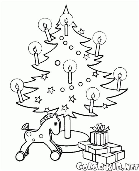 christmas tree with lights coloring page coloring page christmas lights