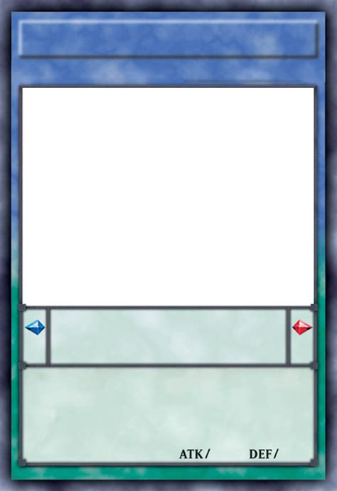 How To Make A Custom Yugioh Card Template by Yu Gi Oh Series 9 Layout Pendulum Templates