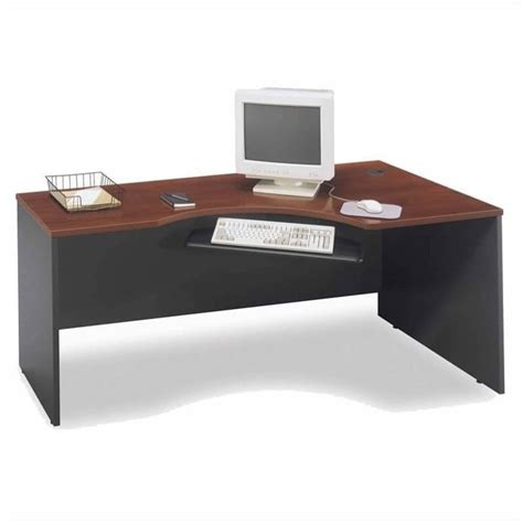right hand corner computer desk bush business series c 4 piece l shape right hand corner