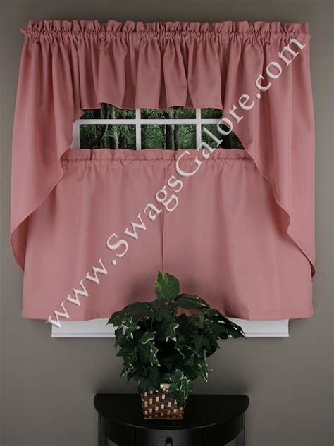 kitchen curtains swags ribcord swags valances buttercream lorraine sheer