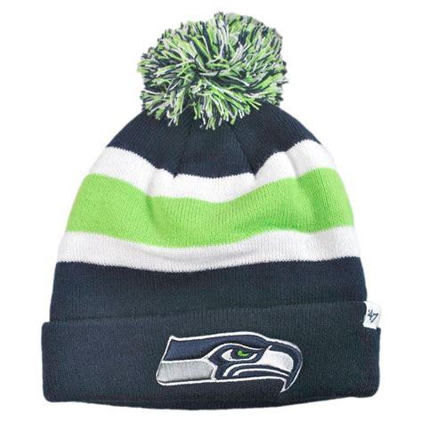 seahawks knit hats seattle seahawks nfl breakaway knit beanie cap
