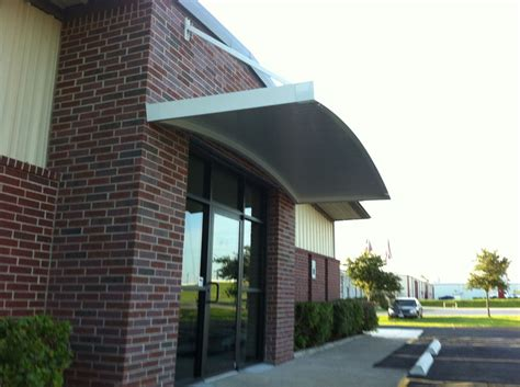 commercial door awnings commercial door hood awnings la porte 187 a 1
