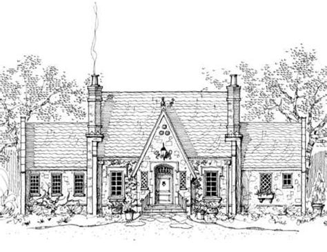english tudor cottage house plans storybook house plans english tudor love this plan quot somerset cottage quot 2662 sf sunken