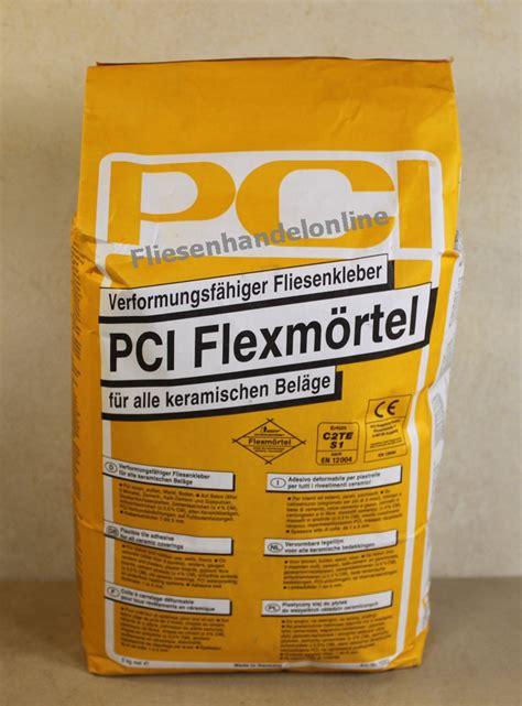 fliesenkleber pci fliesen herdt pci flexm 246 rtel 25kg fliesenflexkleber