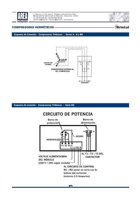 Compressor Hermetic Piston Bristol H2ng244dre Area