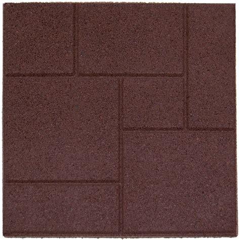 envirotile cobblestone envirotile terra cotta 18 inch