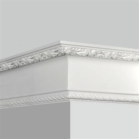 Decorative Crown Molding Polyurethane Decorative Rope Crown Molding For Sale
