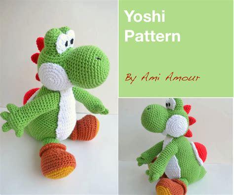 pattern for yarn yoshi yoshi pattern amigurumi crochet pdf