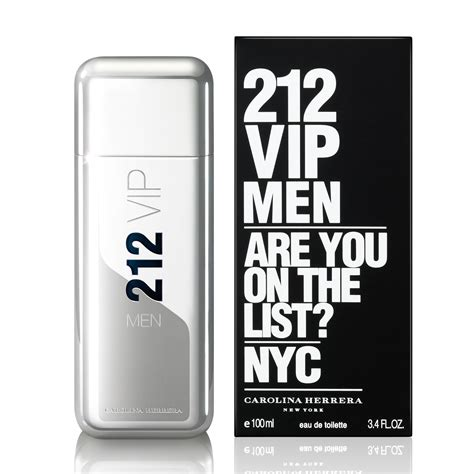 carolina herrera 212 vip eau de toilette spray 100ml feelunique