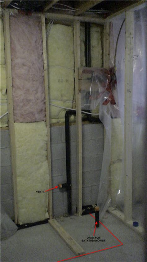 Moving Bathroom Plumbing In Concrete Moving And Adding A Drain On Concrete Basement