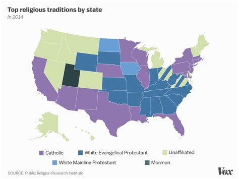 america religion map religion by state map newhairstylesformen2014