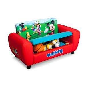 kids sofa kmart delta children disney mickey mouse sofa baby toddler