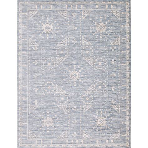 Area Rug 12 X 16 by Unique Loom Kensington Blue 12 Ft 2 In X 16 Ft Area Rug