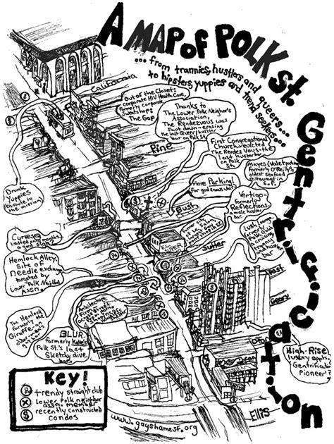 san francisco gentrification map gentrification radical activism visual archive