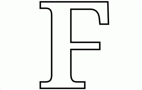 Capital F Coloring Page by Free Printable Letter F Coloring Pages Coloring Home